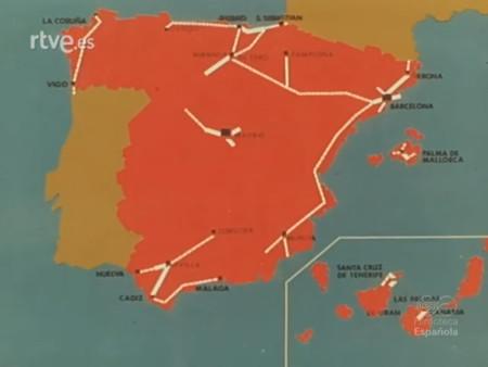 Autopistas Espana 1972