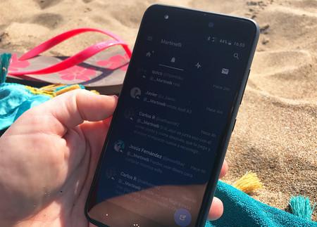 BQ Aquaris X, pantalla al sol