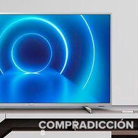 Hazte con una enorme smart TV de 70 pulgadas para tu salón al mejor precio: Philips 70PUS7555/12 por 618 euros en Amazon