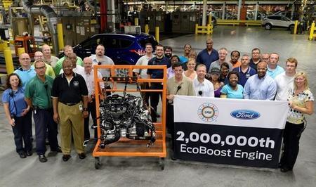 Ford a toda marcha: produce su motor EcoBoost número 2 millones