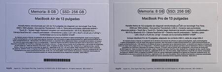 Macs M1 Etiquetas