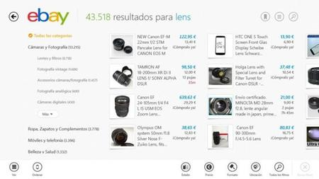 eBay para Windows 8