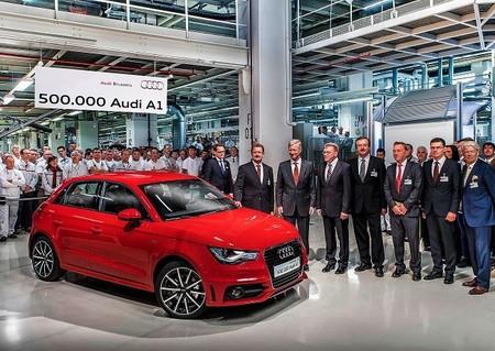 El Audi A1 alcanza el medio millón de unidades producidas