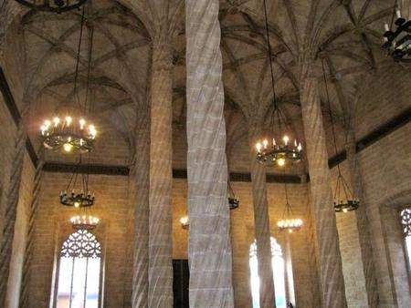 Lonja de Valencia interior