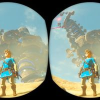 Así se jugará y se verá The Legend of Zelda: Breath of the Wild con la realidad virtual