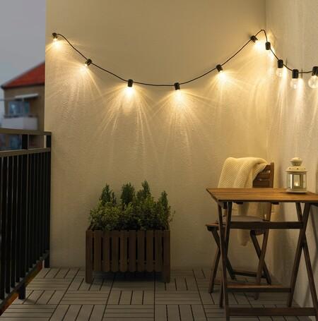 Guirnalda de luz de Ikea
