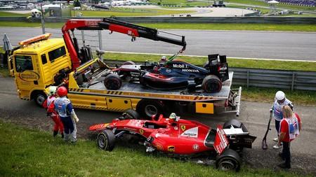 Alonso Raikkonen Austria F1 2016