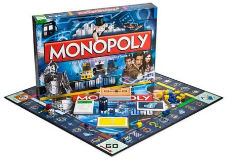 Monopoly de Street Fighter y Dr. Who