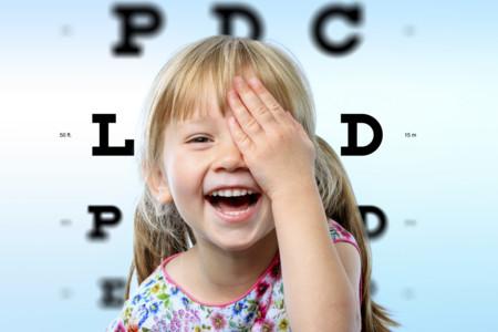 Cómo detectar si tu hijo tiene un problema en la visión