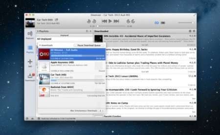 Downcast da el salto a OS X