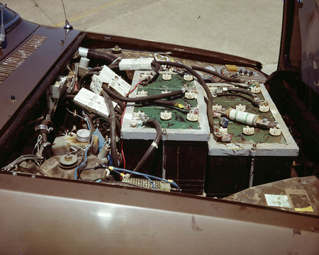 Renault 12 eléctrico NASA