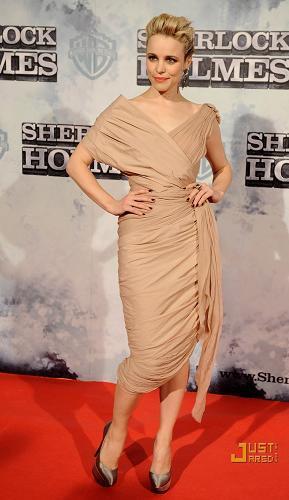 Rachel McAdams marca estilo vestida de Vionnet