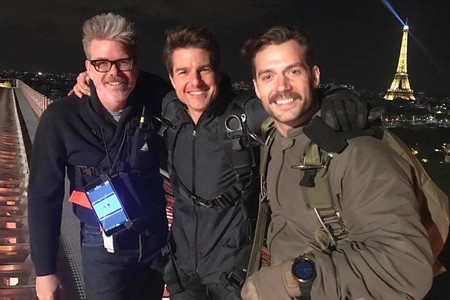 Christopher McQuarrie Tom Cruise Henry Cavill