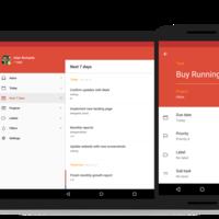 Todoist para Android se renueva: Material Design, gestos, entrada inteligente, temas y más