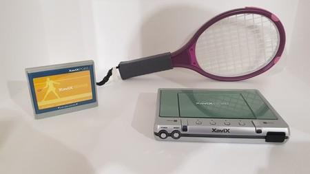 XaviX con su juego de tennis