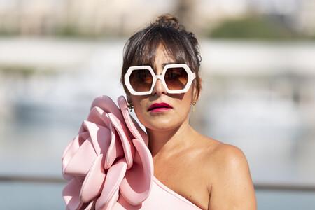 Candela Peña luce el bañador más bonito del verano en el Festival de Málaga 2021
