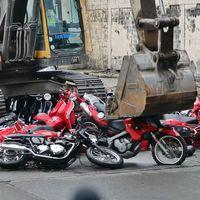 Dolor extremo es ver cómo Filipinas destruye 100 motos a la vez para dar una lección al narcotráfico