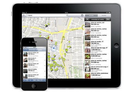 Busca casa desde el iPad con la aplicación de Idealista