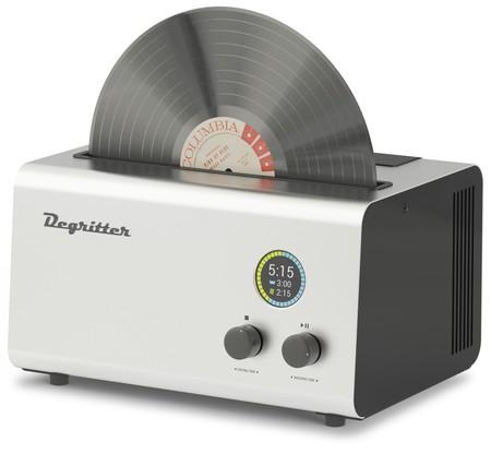 Degritter quiere limpiar tus vinilos usando solo agua y ultrasonidos