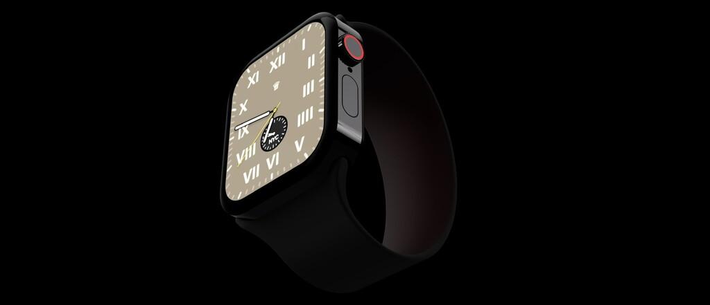 ¿Y si el Apple Watch hereda el diseño de los iPhone 12? Este concepto imagina un reloj de bordes rectos