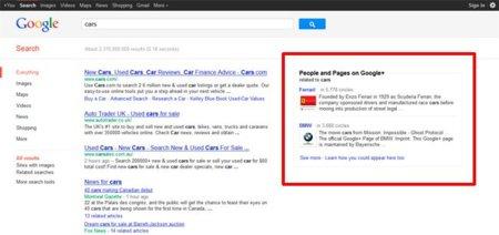 La polémica búsqueda social de Google y el coche de Facebook, repaso por Genbeta Social Media