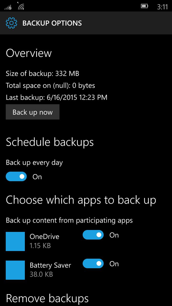 Foto de Windows 10 Mobile build 10136 (84/92)