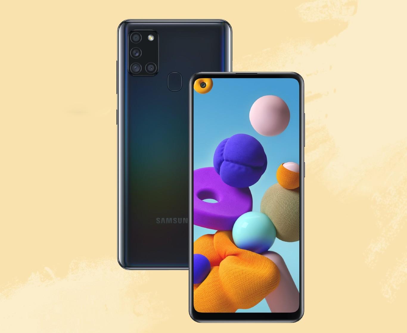 Samsung Galaxy A21s: la gama media estrena el procesador Exynos 850 y crece en batería hasta los 5.000 mAh
