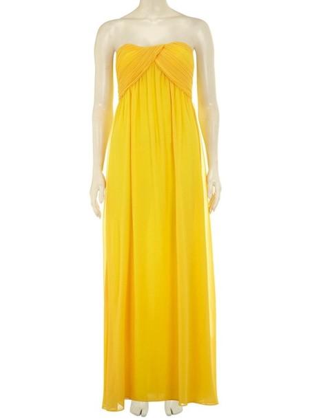 vestido amarillo dorothy perkins