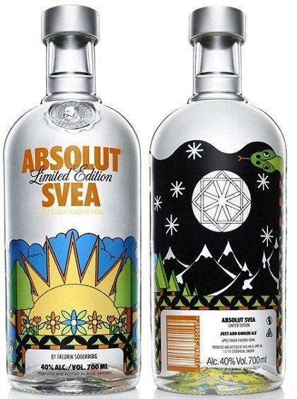 Absolut Svea, edición limitada y sueca