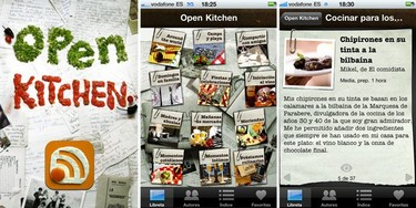 Open Kitchen, recetas con historia en tu iPhone