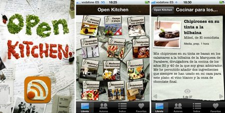 Open Kitchen, recetas con historia en tu iPhone