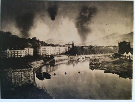 Bombardeos Bilbao Vista Del Nervio 21febrero1874 Fotocharlesmonney