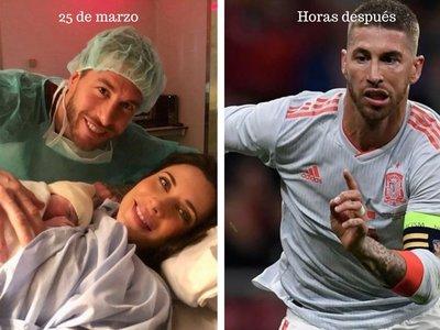 La oportunidad perdida de Sergio Ramos para apoyar el permiso de paternidad
