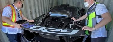 Un McLaren 620R ha sido incautado en Manila y puede acabar destruido: alguien lo ha intentado hacer pasar por un Porsche Cayman