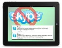 Skype aparece fugazmente por la App Store en iPad (Actualizado)
