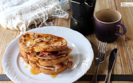 Tostadas francesas con beicon, el desayuno o merienda ideal para zampones y tragaldabas que comen sin remordimientos