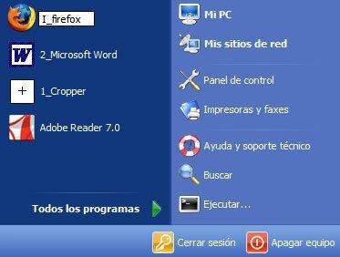 Abrir programas rápidamente en Windows