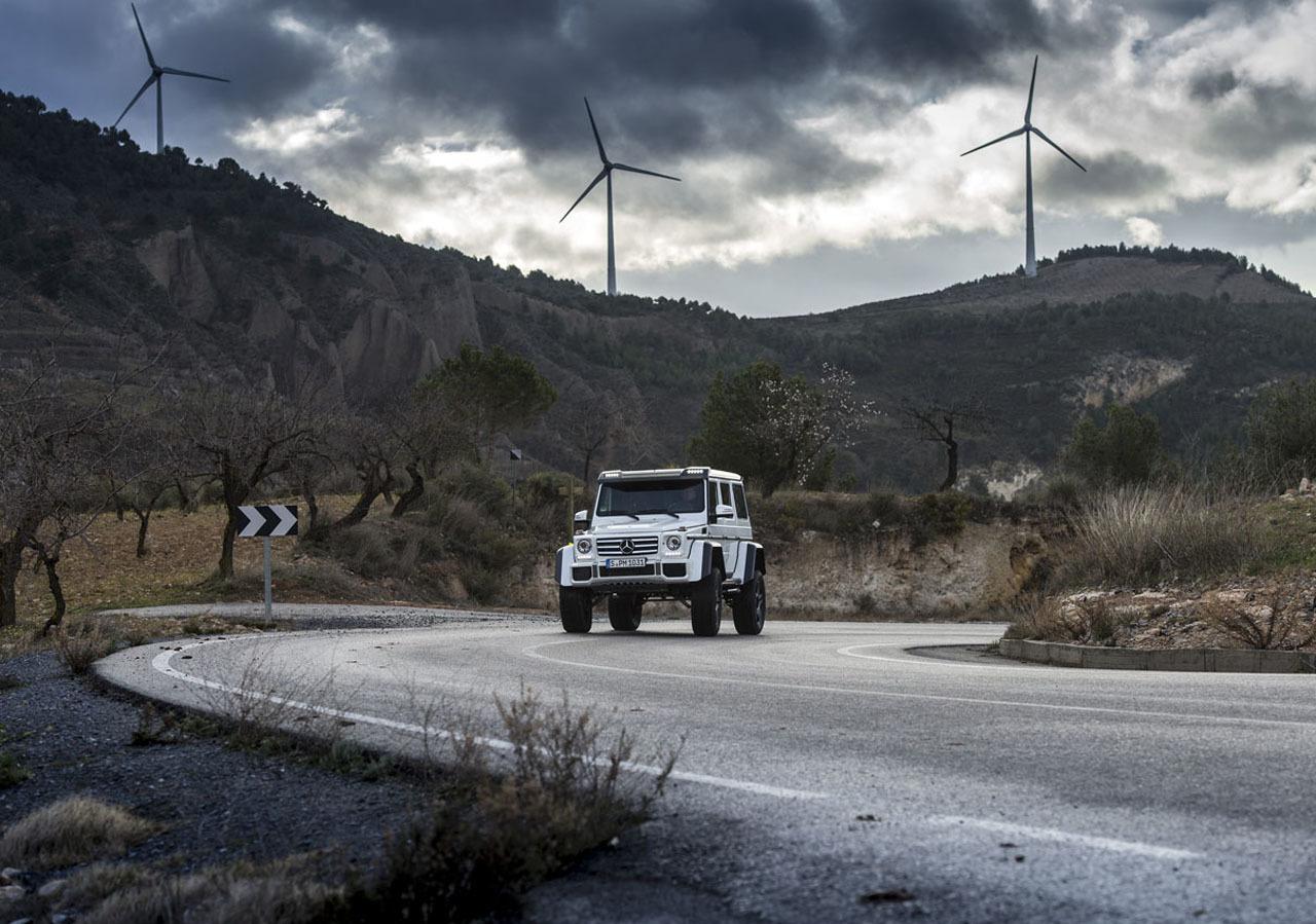 Foto de Mercedes-Benz G 500 4x4², toma de contacto (23/127)