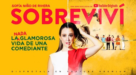 Sofía Niño de Rivera es la protagonista de la primera serie original de YouTube para México