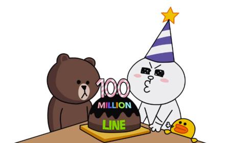 Line supera los cien millones de usuarios en 18 meses