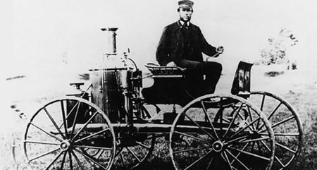 Steam Car 1870