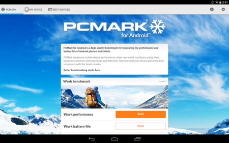 PCMark para Android ya disponible, el benchmark de referencia de Futuremark