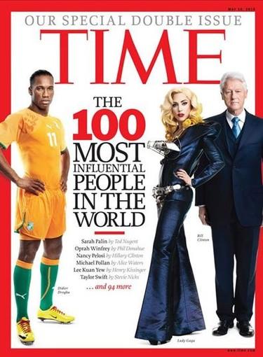 Lady Gaga, la artista más influyente del mundo según la revista Time