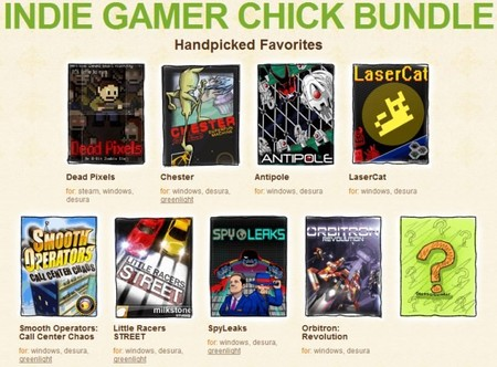 Indie Gamer Chick Bundle