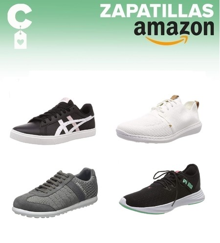Chollos en tallas sueltas de zapatillas Asics, Puma o Under Armour en Amazon