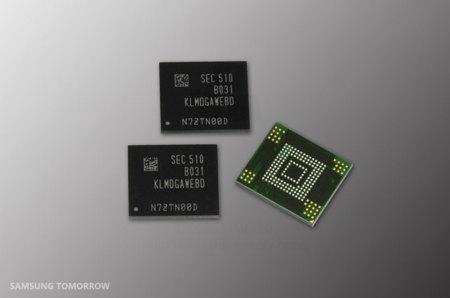 Samsung expandirá a 128GB el almacenamiento de móviles de gama media