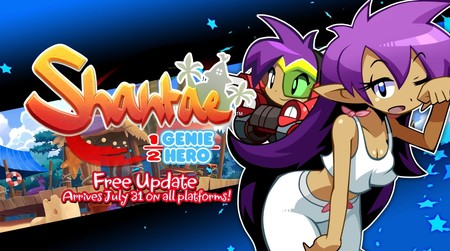 La nueva actualización de Shantae: Half-Genie Hero añade un modo pijama y una transformación de Blaster Master Zero