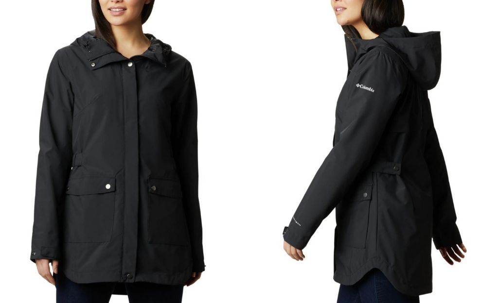 Gabardina impermeable de mujer Here And There Columbia