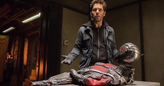 Paul Rudd in 'Ant Man'