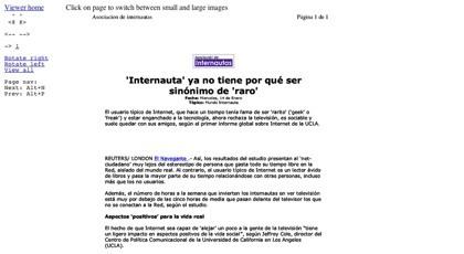 Visualizador y lector online de documentos Pdf, PostScript y Word